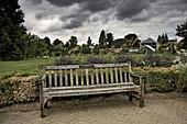 Jardín botánico en Cambridge,  Reino Unido.,  Botanical garden in Cambridge,  UK.