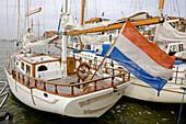 boats,  Volendam,  Netherlands