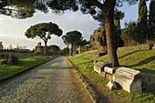 Rome Italy Via Appia Antica Appian Way