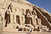 Egypt Upper Nile Abu Simbel Temple of Ramses II