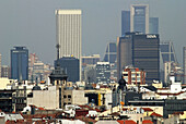 Architecture, Azca, Big, City, Citys, District, Distrito, Madrid, Month, Months, Skyline, Urban, XW4-869738, agefotostock