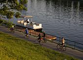 Poland,  Krakow,  by Vistula river
