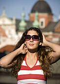 Poland Krakow,  young woman