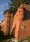 Poland,  Krakow,  Wawel,  fortification