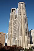 Japan,  Tokyo,  Shinjuku,  Metropolitan Government Office Building
