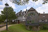 Toll house in the old city of Hattingen, Ruhrgebiet, North Rhine-Westphalia, Germany, Europe