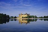 Schwerin Castle, Schwerin, Mecklenburg Lake District, Mecklenburg-Western Pomerania, Germany