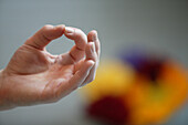 Yoga hand position, Mudra, Hand gesture used in yoga practice