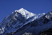 Trek towards Gocha La in Kanchenjunga region, Mt, Pandim, Sikkim, Himalaya, Northern India, Asia