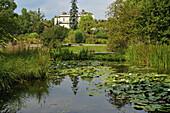 Ogrod botaniczny, pond at botanical garden, Krakow, Poland, Europe