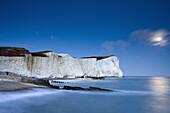 Coastline at Seaford Head, Seaford, East Sussex, England, Great Britain, Europe