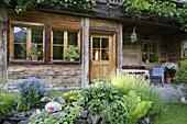 old farmhouse, Bad Hindelang, Allgau, Swabia, Bavaria, Germany