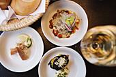 Restaurant Der Steirer offers styrian style tapas in addition to the regular menu, Graz, Styria, Austria