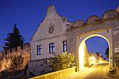 Raabs gate, one of the city gates in Drosendorf,Thaya, Lower Austria, Austria