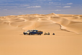 Individual tourism in the libyan desert, Libya, Africa
