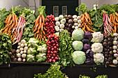 Vegetable Bazar in Tripoli, Libya, Africa