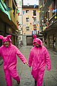 Carnival, Tolosa. Guipuzcoa, Basque Country, Spain