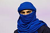 Berber man, Sahara Festival, Douz, Tunisia  December 2008)