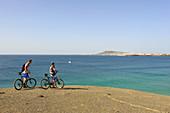 Beach at Papagayo Natural Park, Lanzarote. Canary islands, Spain