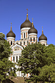 Alexander Nevski Cathedral Tallinn, Estonia, Baltic States, Northeast Europe.