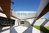 Building, Technology Park of Bizkaia, Zamudio, Basque Country, Spain