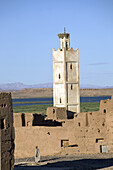 Kasbah in the Atlas mountains near Ouarzazate, Morocco