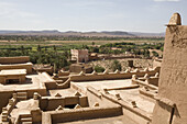 Kasbah in Ouarzazate, High Atlas Mountains in the southeast of Morocco