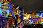 Lyon´s Festival of Lights is a four-day event where contemporary light installations illuminate the city.,every year in december during 4 days from the 5 to the 8 of december,  Rhône-Alpes, France