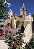 San Felipe de Neri Church, Built 1793, spiritual heart for Albuquerque, New Mexico