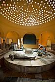 Restored Turkish Bath, Pasha's Turkish Bathhouse Hammam, Ahmad Pasha Al-Jazzar built it in 1781 Acre, Israel
