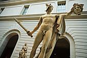 Sculptures gallery in the Metropolitan Museum of Art, Manhattan, New York City, USA