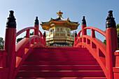 asia, china, hong kong, Chi lin nunnery pagoda 2008