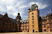 Schloss Johannisburg castle, Aschaffenburg, Bavaria, Germany