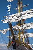 USA,Massachusetts, Boston, Sail Boston Tall Ships Festival, Romanian tall ship Mircea