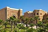 Gate and walls of the Oudaya Kasbah, Rabat, Morocco