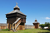 Architecture, Building, Buildings, Color, Colour, Daytime, Europe, exterior, Horizontal, Irkutsk, Museum, Museums, Open-air museum, Open-air museums, outdoor, outdoors, outside, Russia, Russian federation, Taltzy, Travel, Travels, Wood, Wooden, World loca