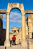 Ciudad romana de Dougga, Tunez, Africa