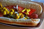 Chicago Hot Dog, Chicago, Illinois, USA