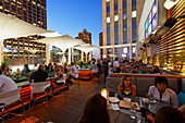ROOF Rooftop Bar and Grill, The Wit Hotel, Chicago, Illinois, USA