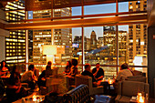 ROOF, Rooftop Bar and Grill, The Wit Hotel, Chicago, Illinois, USA