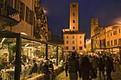 Piazza Risorgimento, Alba, Piedmont, Italy