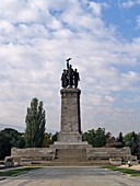 Monument to the Soviet Army, Sofia BulgariaThe Monument to the Soviet Army  is a monument located in Sofia, the capital of Bulgaria. There is a large park around the statue and the surrounding areas. It is a popular place where many young people gather. T