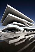 Veles i Vents building  aka Foredeck building) by David Chipperfield, 32nd America´s Cup Permanent Pavillion, Valencia. Comunidad Valenciana, Spain
