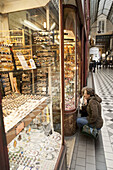 Jewelry store, Passage Panoramas, Paris, France
