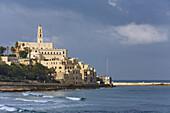 Blick auf Jaffa, alte arabische Hafenstadt, Tel Aviv, Israel, Naher Osten