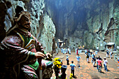 Huyen Khlon cave in the Thuy mountain, marble mountains near Da Nang, Vietnam