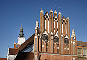 City Hall, Town hall, Frankfurt (Oder), Land Brandenburg, Germany