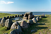 Harhoog Megalithic Grave in Keitum, Sylt Municipality, Sylt, Schleswig-Holstein, Germany