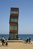 Tower on the beach, Barcelona, Catalonia, Spain, Europe