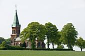 oja church, Ystad, Skane, Sweden